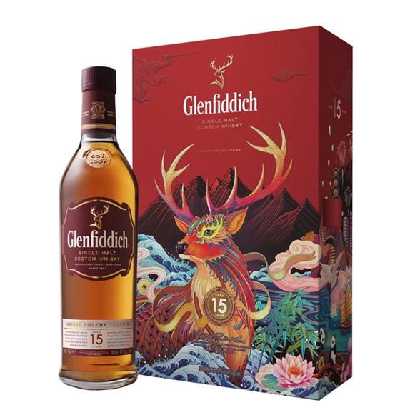Hộp quà Glenfiddich 15