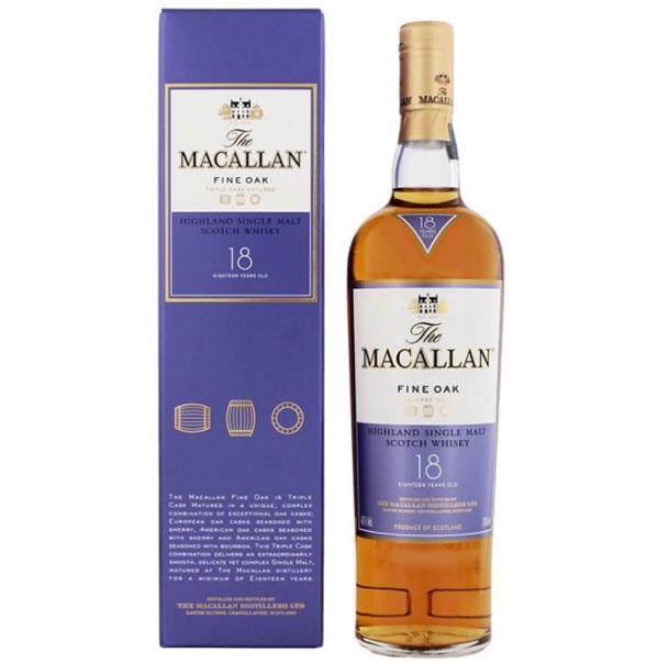 Macallan 18 Years Old Fine Oak