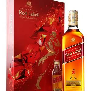 Hộp quà Johnnie walker Red label 750ml