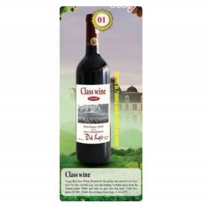 Vang Đà Lạt Class wine (đỏ)