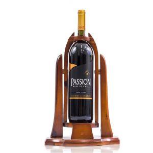 Rượu vang đỏ Passion Cabernet Sauvgnon Kệ gỗ chai 1,5Lít Xanh