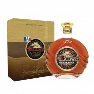 Hộp quà Whisky Halliwis
