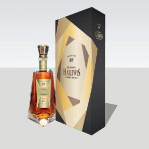 Hộp quà rượu Halliwis 21