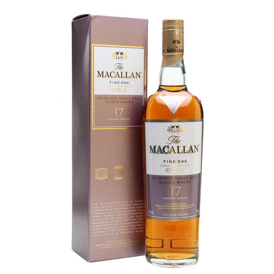 Rượu Macallan Fine Oak 17 years Old