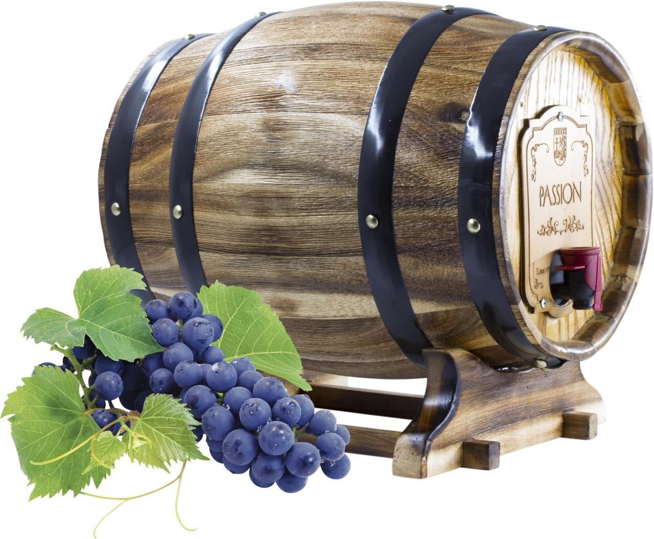 Rượu vang đỏ Passion Trống gỗ 3Lít