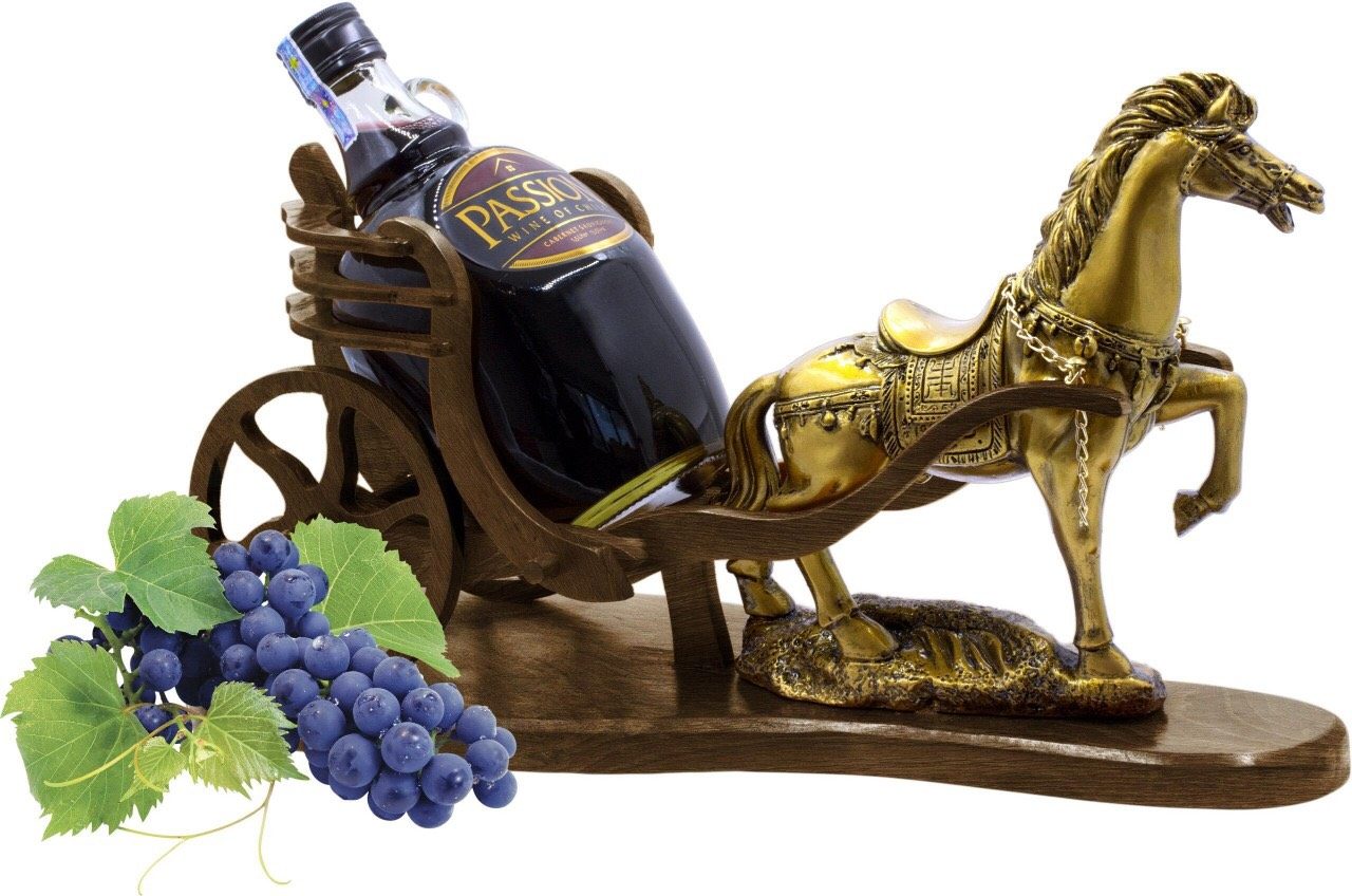 Rượu vang đỏ Passion 1,5Lít ngựa gỗ
