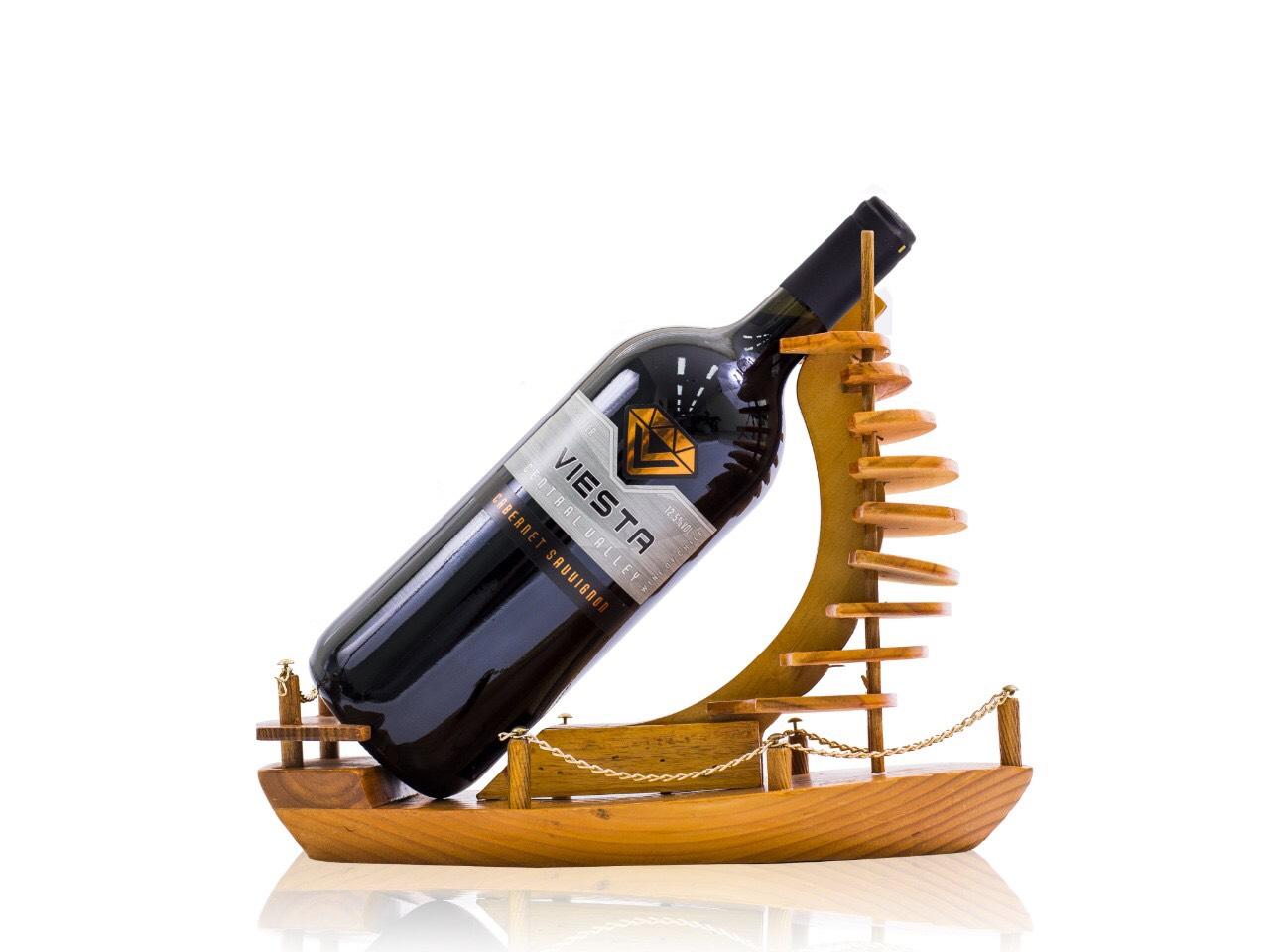 Rượu vang đỏ Viesta Cabernet Sauvgnon Kệ Thuyền 1,5Lít